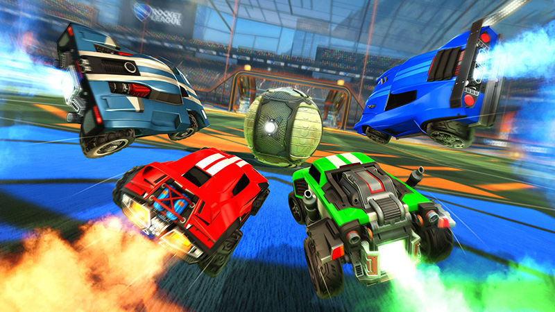 Spil Rocket League i eSportligaen